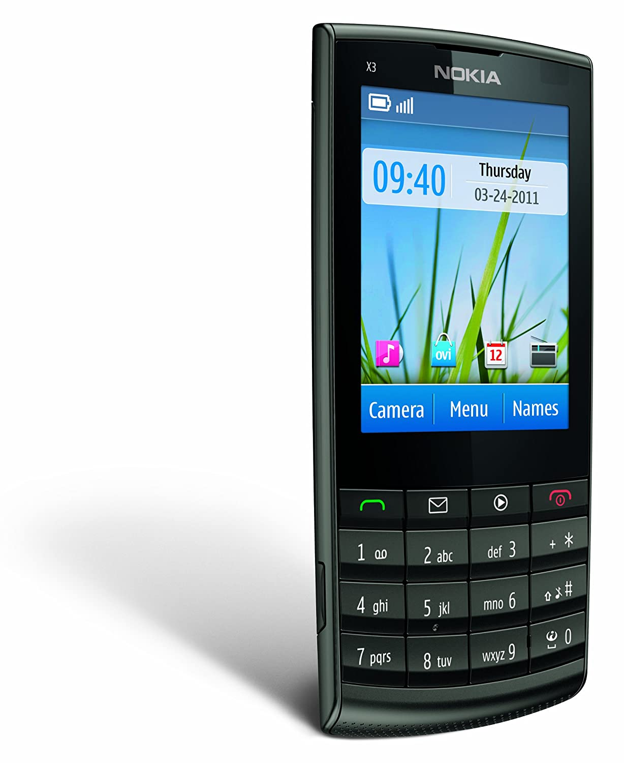 Nokia X3-02 Unlocked Touch and Type GSM Phone with 5 MP Camera ...