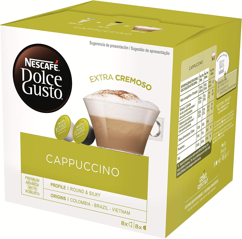 Nescafé Café Dolce Gusto Cappuccino: Amazon.es: Alimentación y bebidas