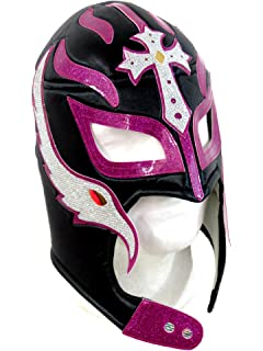 Leos Imports Rey Mysterio Adult Lucha Libre Wrestling Mask (Pro-fit) Costume Wear