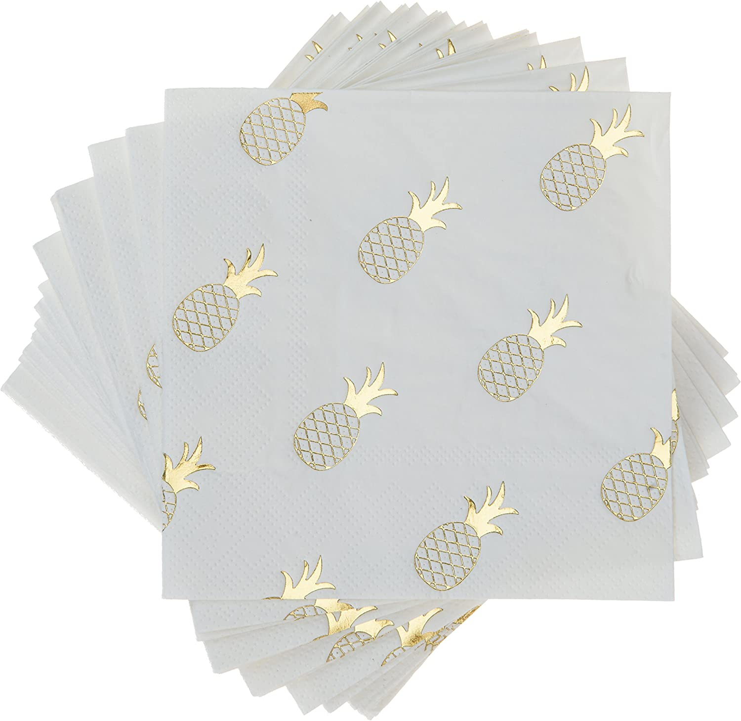 Cakewalk (Party) Pineapple Crush Cocktail Napkins, Multicolor