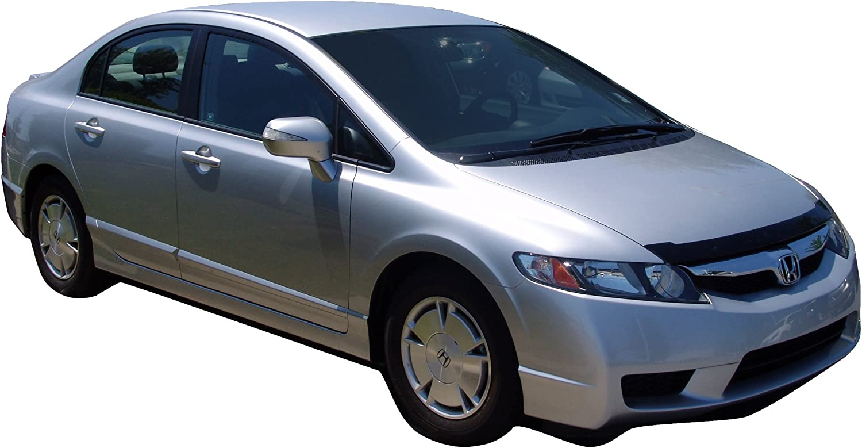 Auto Ventshade 20901 Carflector Dark Smoke Hood Shield for 2006-2010 Honda Civic