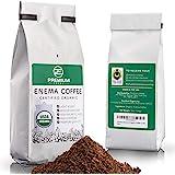 Premium Enema™ Organic Enema Coffee (1LB) Light Roast, Medium Ground - Perfect For Gerson Coffee Enemas - Fair Trade Certifie