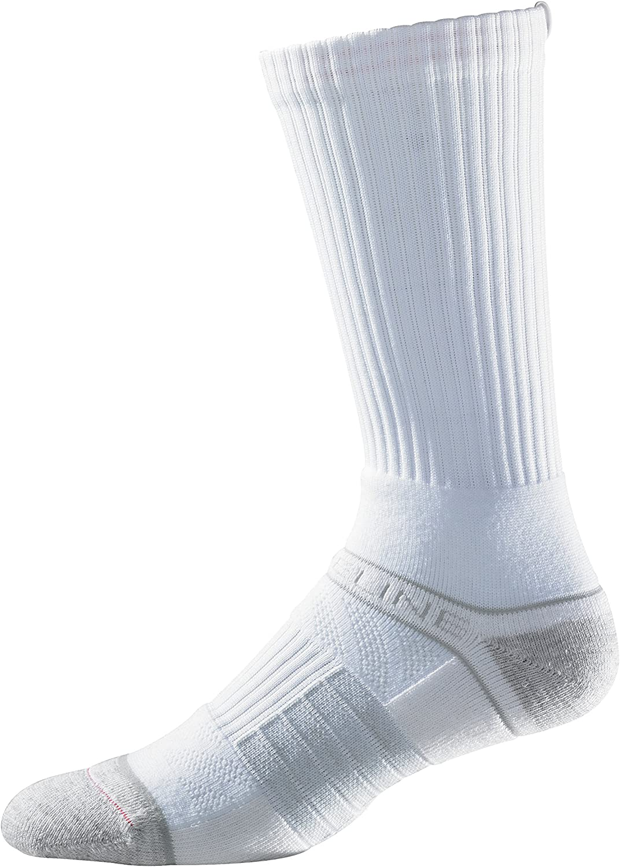 Strideline Premium Athletic Crew Socks (1 Pack), Women's, White