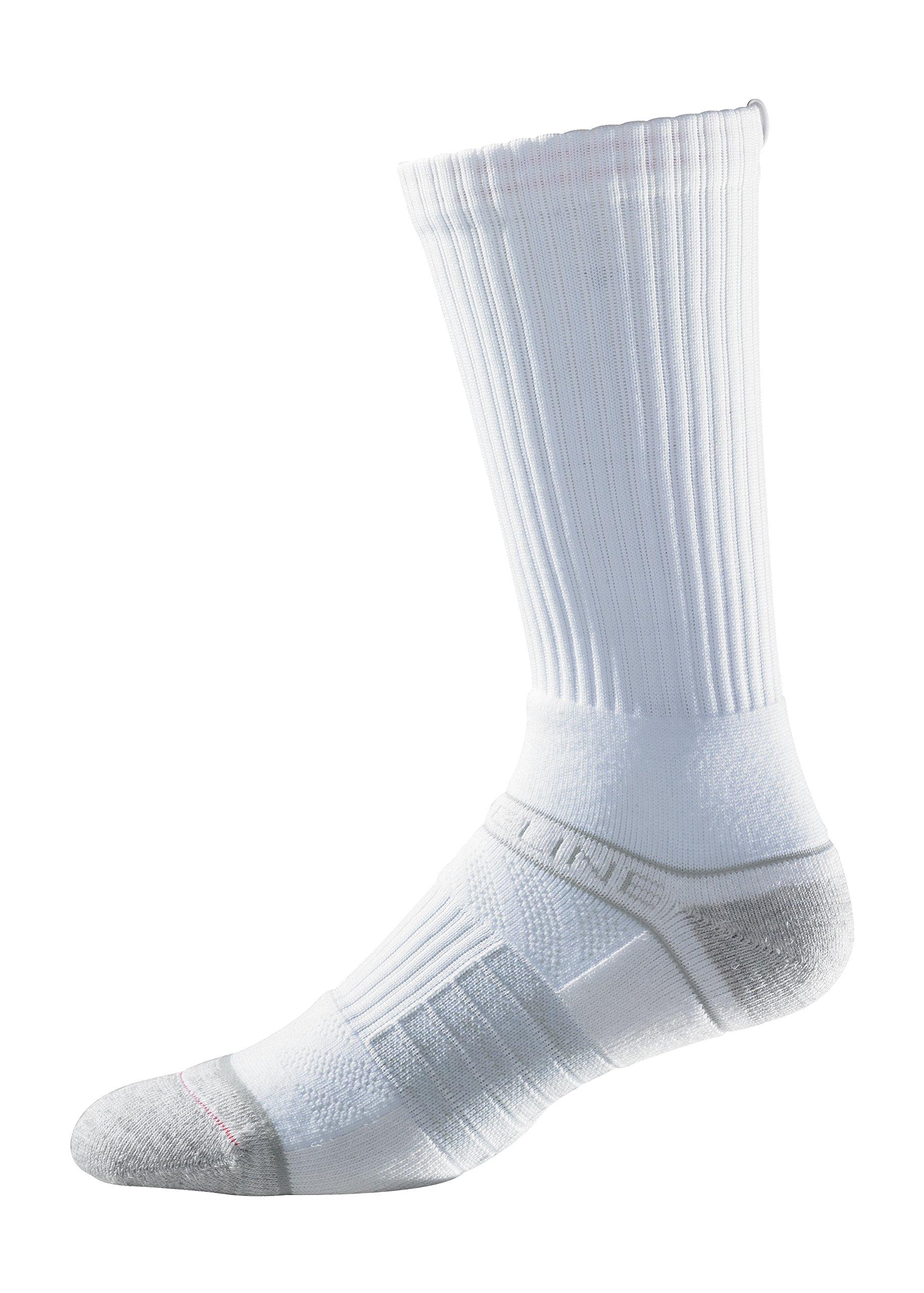 Strideline Youth Premium Athletic Crew Socks, One Size