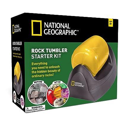 Amazon National Geographic Starter Rock Tumbler Kit Toys Games