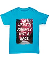 Twisted Envy Life's A Journey Not A Race Girl's T-Shirt