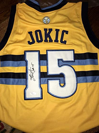 detailed pictures 06337 2f800 Nikola Jokic Autographed Jersey - JSA Certified ...