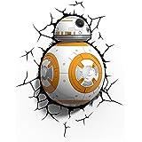3D Light FX Star Wars BB-8 Droid 3D Deco LED Wall Light