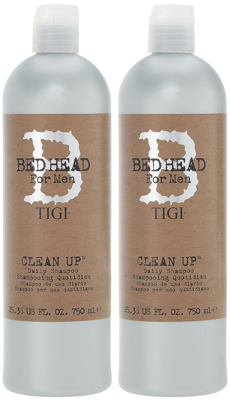 Tigi Bed Head Duo For Men Clean Tween Set (Shampoo 750ml + Conditioner 750ml) PT600801