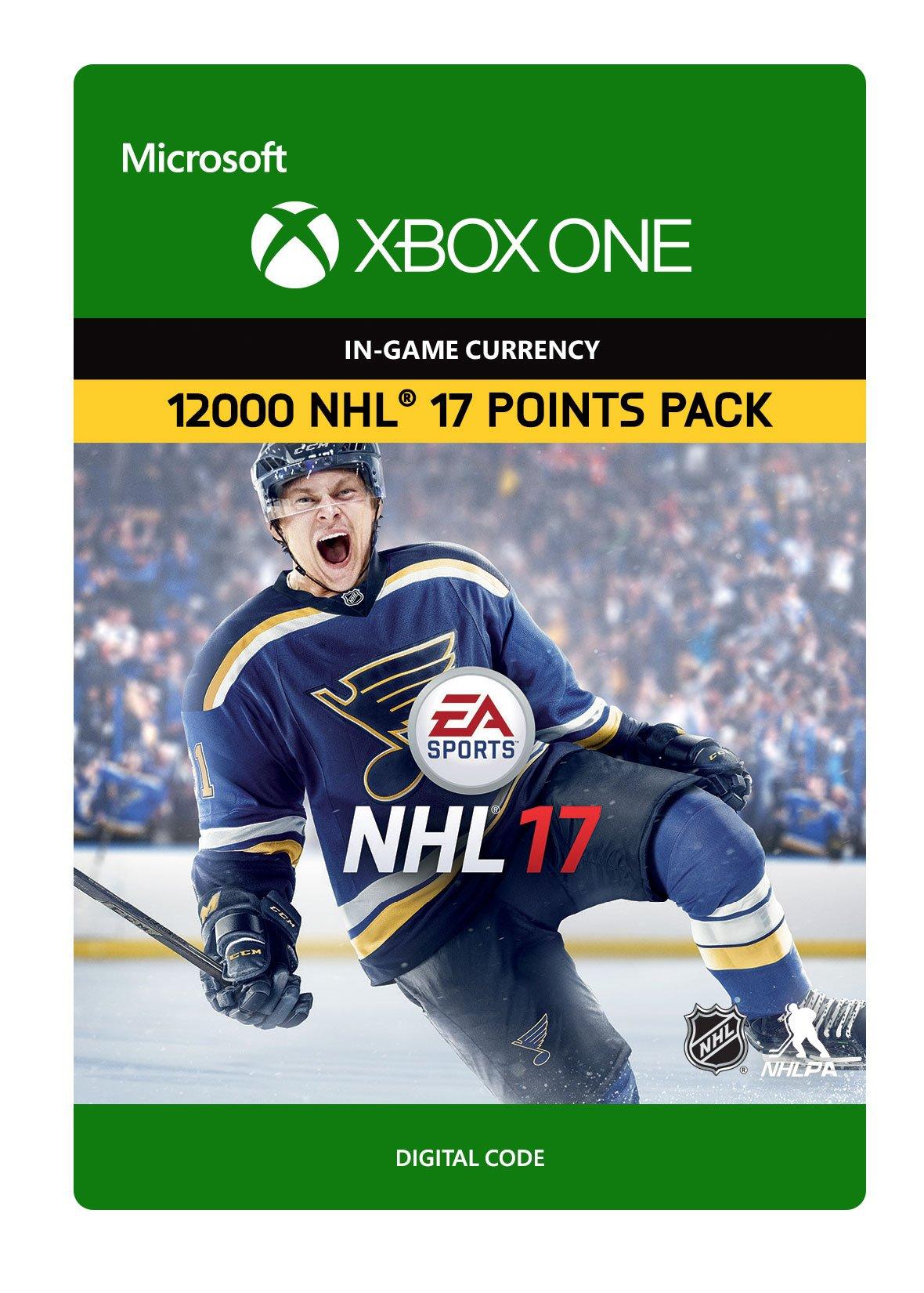 NHL 17 Ultimate Team NHL Points 12000 - Xbox One Digital Code