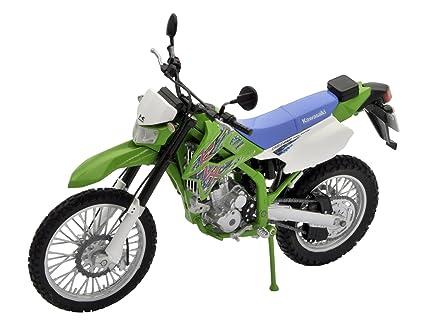 Amazoncom 112 Pre Painted Pvc Motorcycle Kawasaki Klx 250 Final