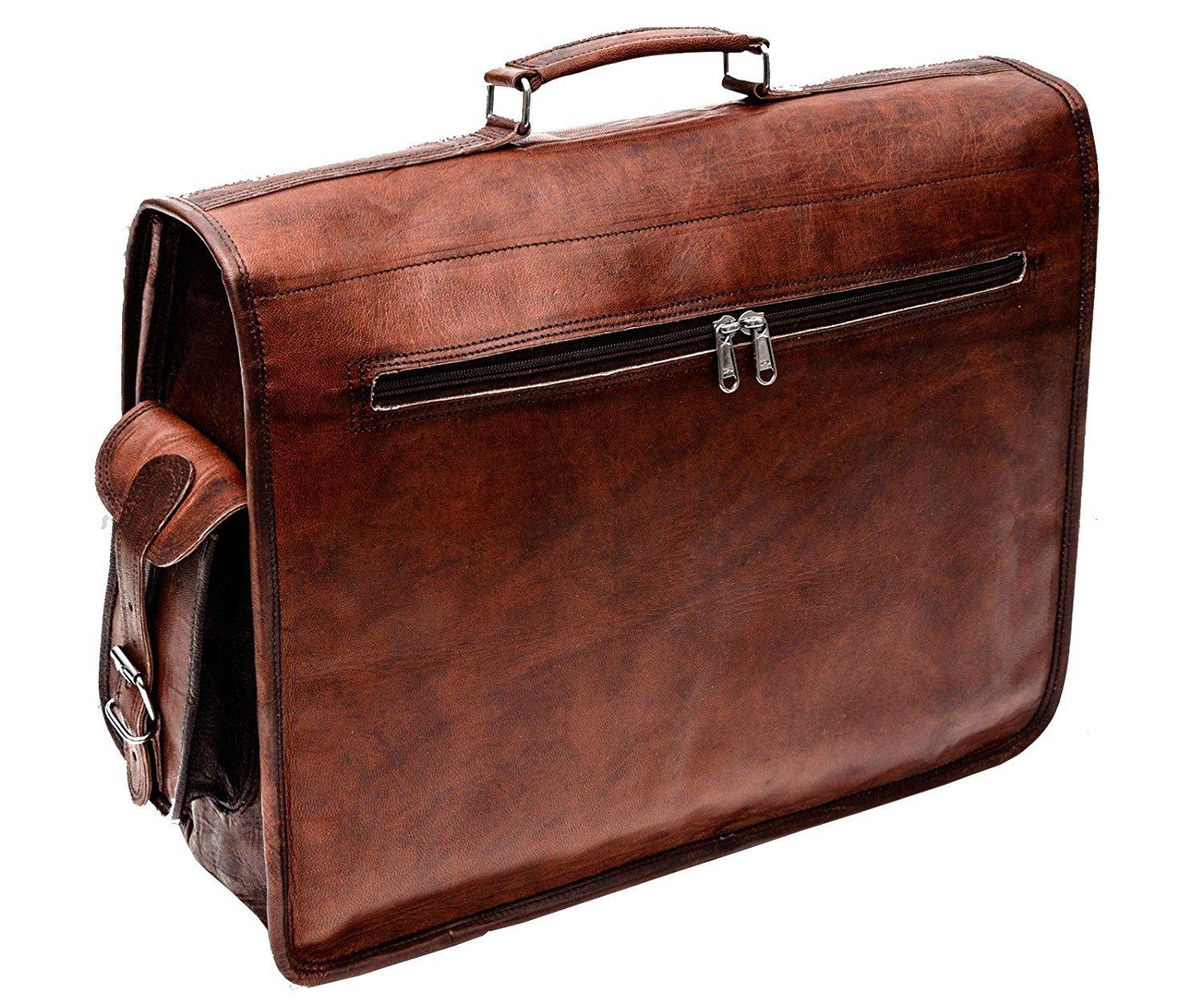 ✅Perfect For Large Laptops - This Leather laptop bag is perfect for  carrying larger laptops including most 17 inch laptops. baf0043d57e0b