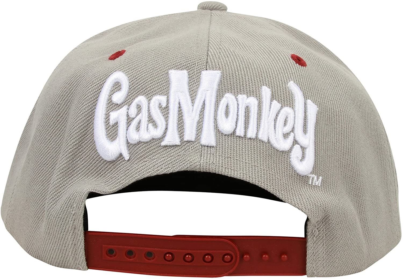 5604341c282b65 Gas Monkey Garage Cap Snapback RR Hands Grey: Amazon.co.uk: Clothing