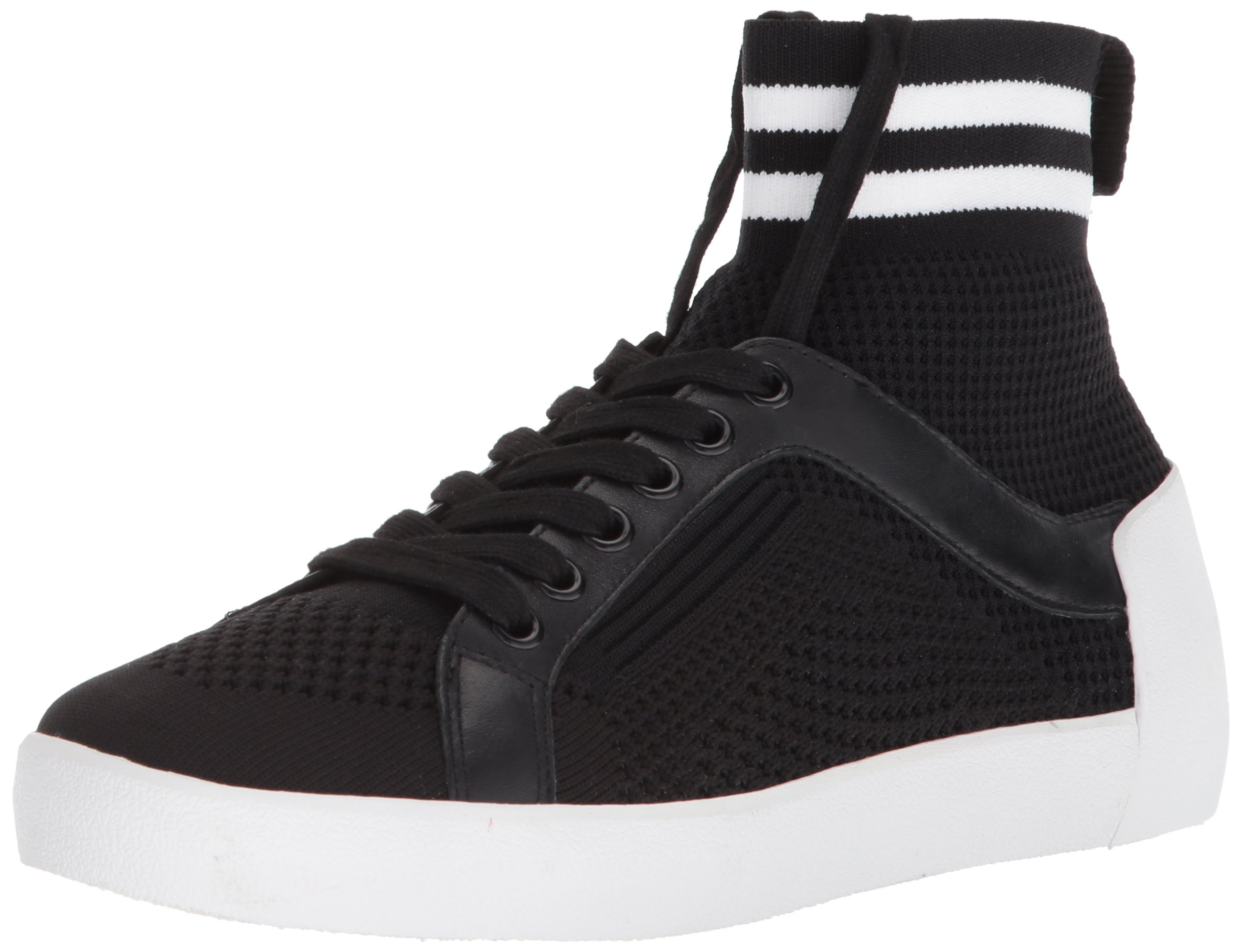 Ash Women's AS-Ninja Sneaker, Black/White, 38 M EU (8 US)