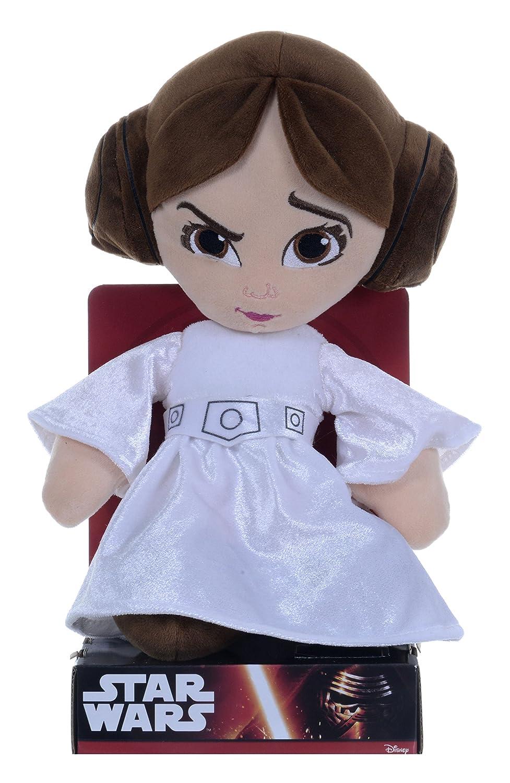 Disney Star Wars Peluche de la Princesa Leia de 25 cm: Amazon.es: Juguetes y juegos