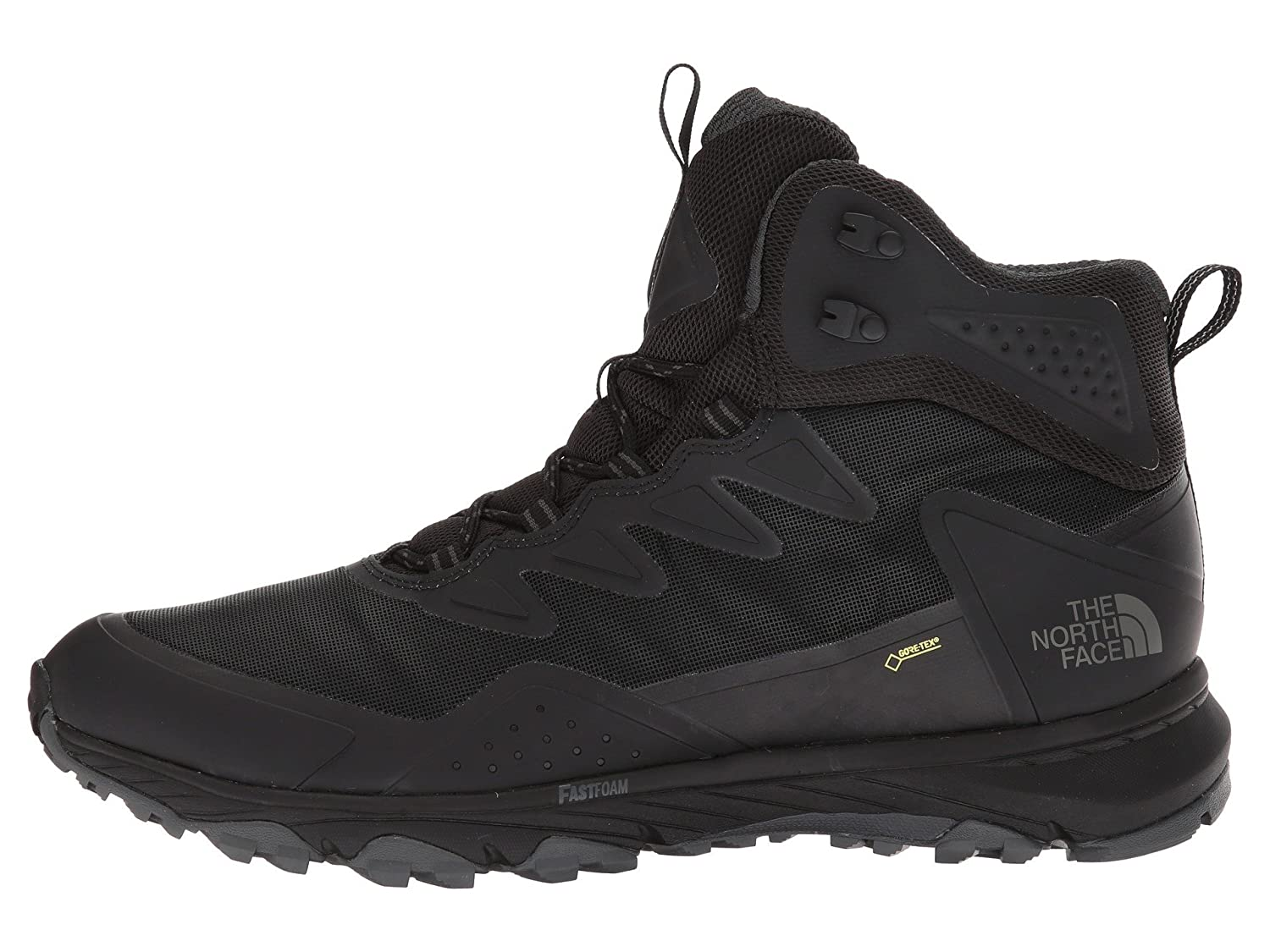 The North Face M Utra FP III MD GTX, Stivali da Escursionismo Alti Uomo, Nero (TNF Black/TNF Black Kx7), 44.5 EU