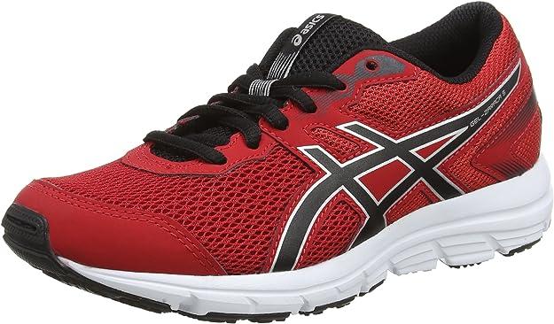 Asics Gel-Zaraca 5 GS, Zapatillas de Deporte Unisex niños, Rojo (True Red/Black/Silver), 35 EU: Amazon.es: Zapatos y complementos