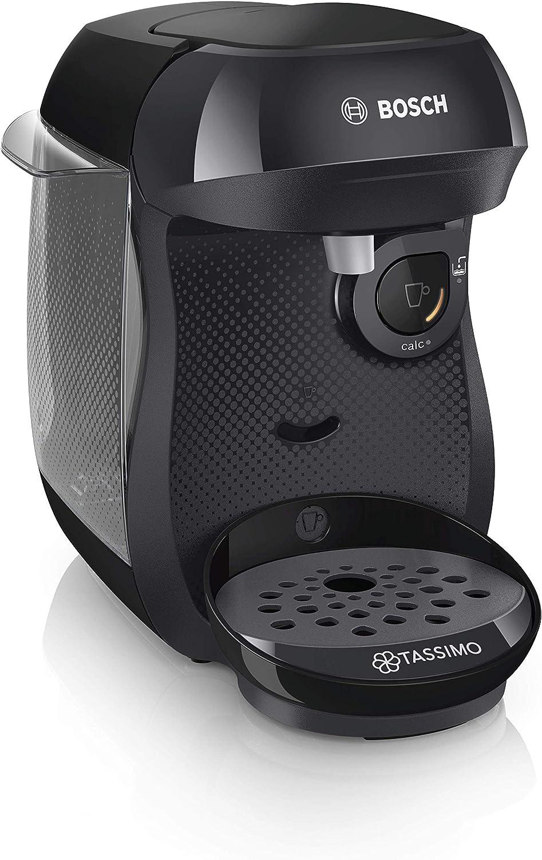 Bosch Tassimo Happy tas1002 C cafetera bebidas calientes, Negro ...