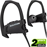 Wireless Headphones ZEUS STORM (NEW model of 2017) HD Stereo Sound Best Wireless Earbuds with Microphone Running Headphones Sport Headphones IPx5 Sweatproof Wireless Headphones Workout Headphones