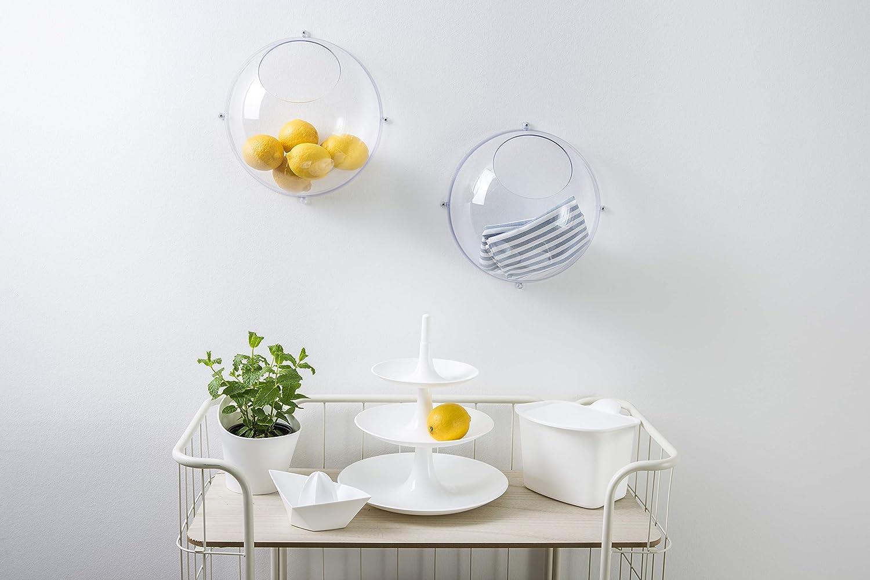 Transparent Grey Koziol Hanging Display Medium thermoplastic Plastic