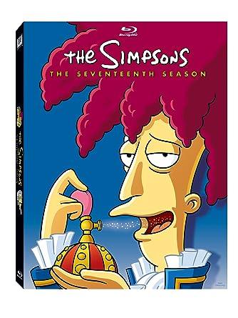 Amazon Com The Simpsons Season 17 Blu Ray Dan Castellaneta Julie Kavner Nancy Cartwright Yeardley Smith Hank Azaria Harry Shearer Movies Tv