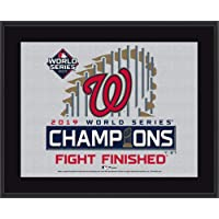 """$29 » Washington Nationals 2019 World Series Champions 10.5"""" x 13"""" Sublimated Plaque - MLB Team Plaques and Collages"""