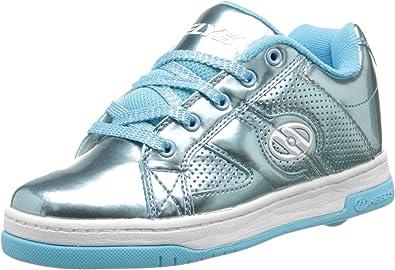 Heelys Boys Kids Split Lace Up Sports Wheels Skate Trainers Sneakers Shoes Blue