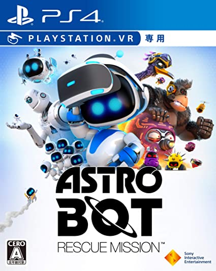 Astro Bot Rescue Mission VR SONY PS4 PLAYSTATION 4 JAPANESE ...