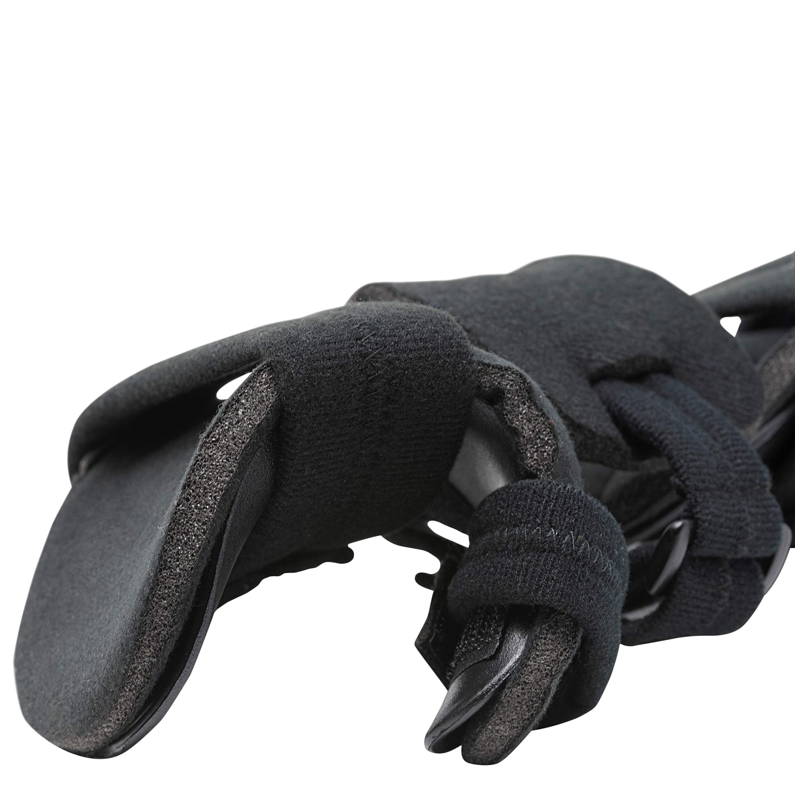 Stroke Hand Splint- Soft Resting Hand Splint for Flexion Contractures, Comfortably Stretch and Rest Hands for Long Term Ease with Functional Hand Splint, an American Heritage Industries(Right, Medium) by American Heritage Industries (Image #3)