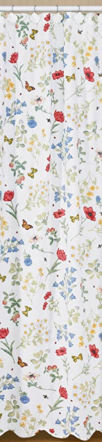 Park Designs Wildflower Shower Curtain 72 By 72quot