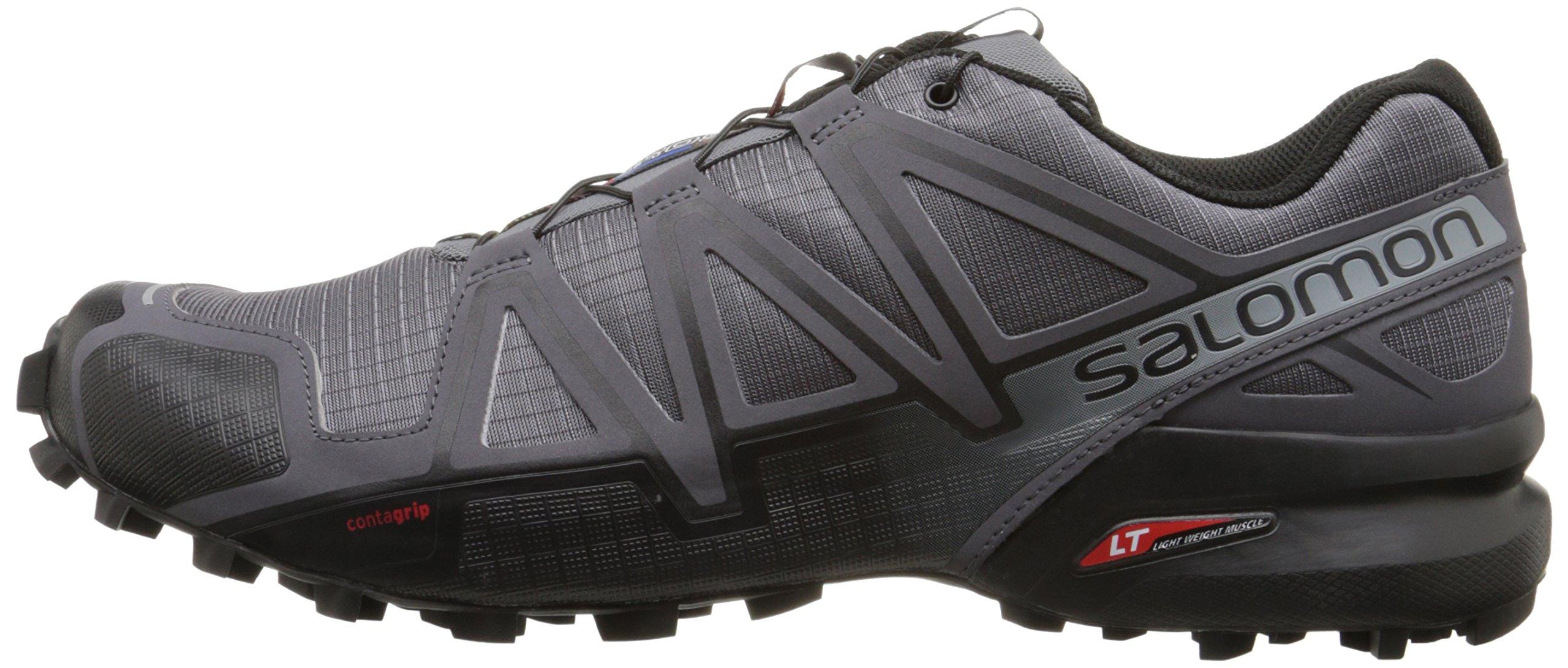 Salomon Men's Speedcross 4 Trail Runner, Dark Cloud, 7 M US by Salomon (Image #6)