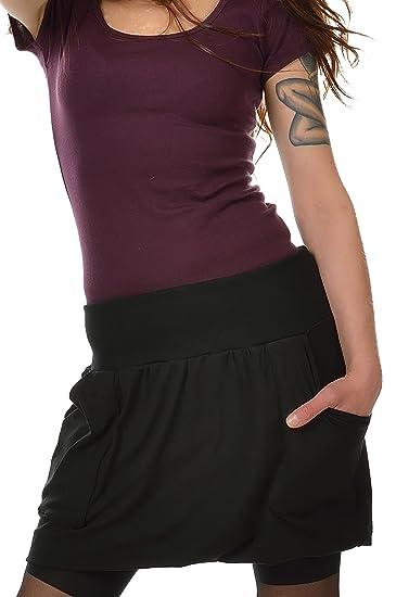 2ba0303e2978 3Elfen Summer Short Mini Balloon Skirt wiht pookets Womans Ladies Steampunk  Gothic - Plus Size Fashion
