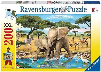 Puzzles & Geduldspiele Schmusende Raubkatzen Puzzle 200 Teile Spiel Deutsch 2015 Geduldspiel