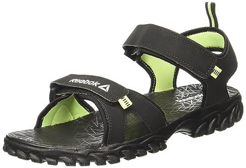 0786d9e7b Reebok Men s Aztrix Lp Blk Electric Flash Metslv Sandals - 6 UK India