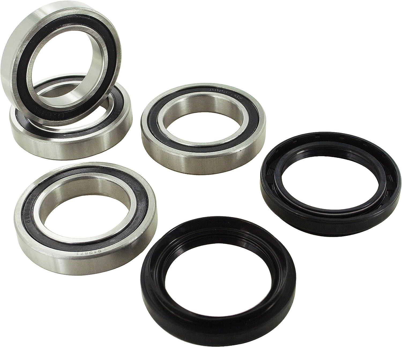 New HQ Powersports Rear Wheel Bearings Replacement For Yamaha YFM700R Raptor 2006-2012