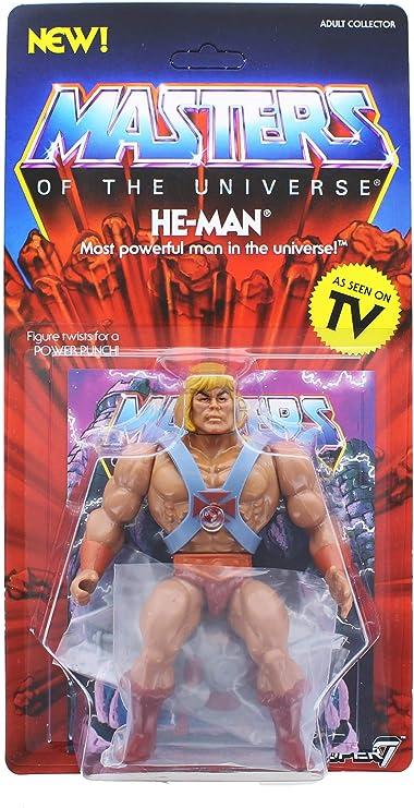 SUPER7 Masters Of The Universe MOTU Skeletor Action Figure UNPUNCHED Vtg Style