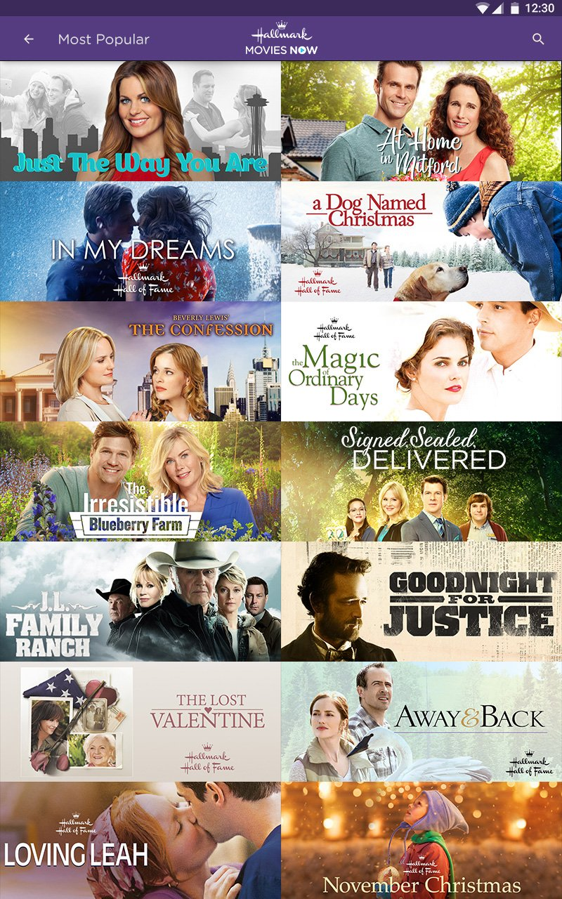 Amazoncom Hallmark Movies Now Appstore For Android