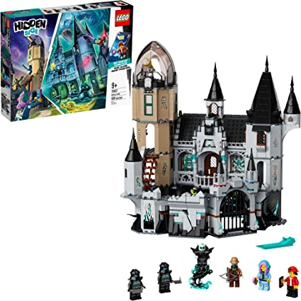 Amazon Com Lego Hidden Side Mystery Castle 70437 Ar Ghost Toy Castle Model With App Controlled Ghost Hunting Toy With Jack Parker Vaughn Nehmaar Reem And 2 Shadow Walker Minifigures New 2020 1 035 Pieces Toys