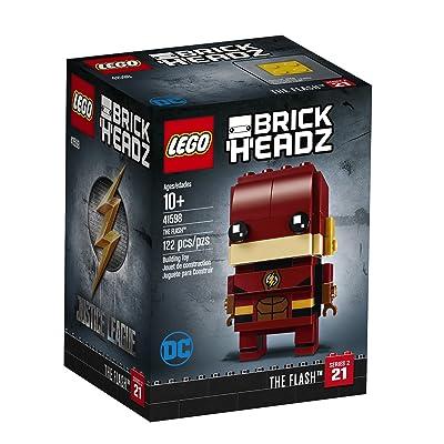 LEGO BrickHeadz The Flash 41598 Building Kit (122 Piece): Toys & Games