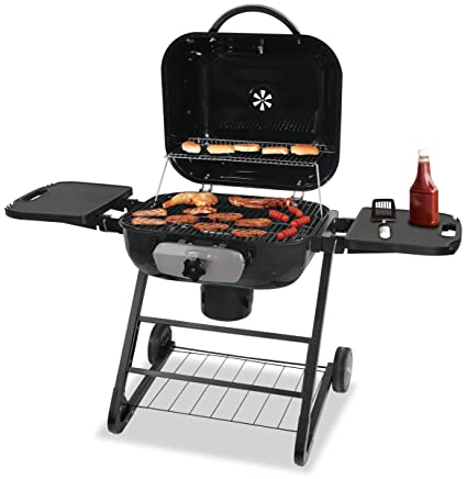 Amazon.com : Blue Rhino CBC1255SP Deluxe Outdoor Charcoal Barbeque ...