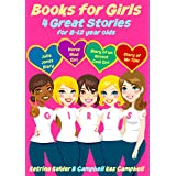 Books for Girls - 4 Great Stories for 8 to 12 year olds: Julia Jones' Diary, Horse Mad Girl, Diary of an Almost Cool Girl and