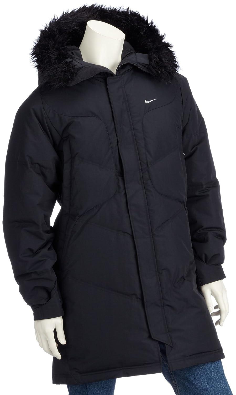 c401088823aa Nike Mens Down Snorkel Jacket Black 215469-010 36 38  Amazon.co.uk  Clothing