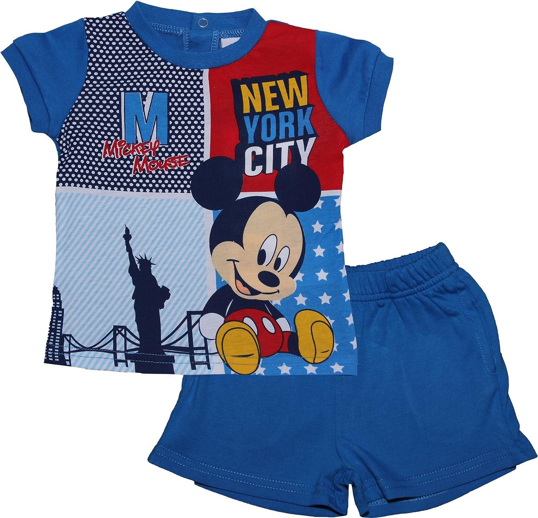 Mickey Mouse Two Piece Baby Pyjama Set