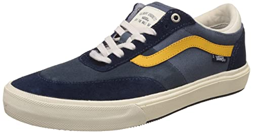 698facb8441649 Image Unavailable. Image not available for. Colour  Vans Men s Gilbert  Crockett 2 Pro Antique and Navy ...