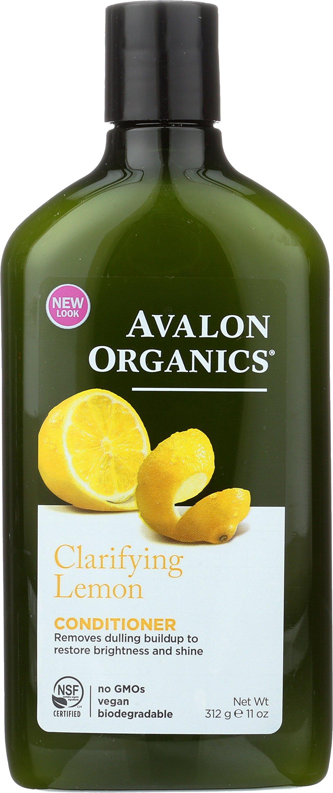 Avalon Organics Clarifying Lemon Conditioner, 11 oz.