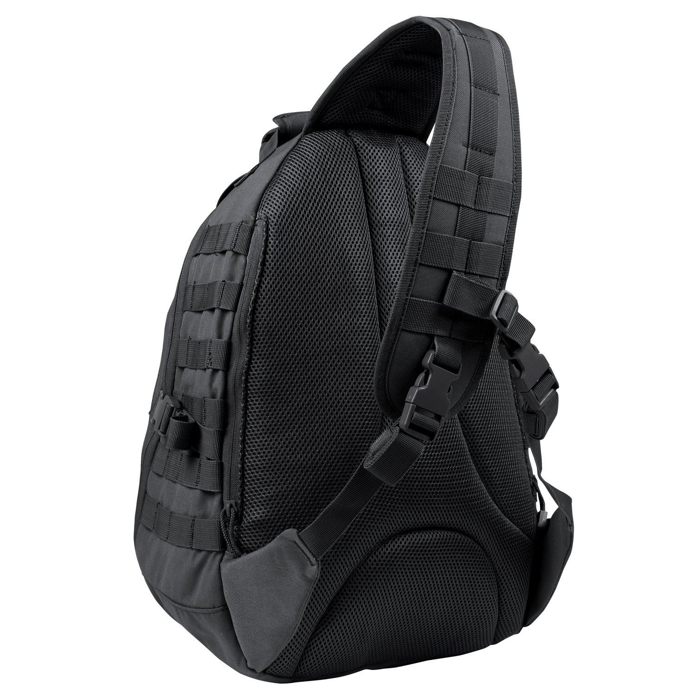 amazon com condor ambidextrous sling bag black sports outdoors