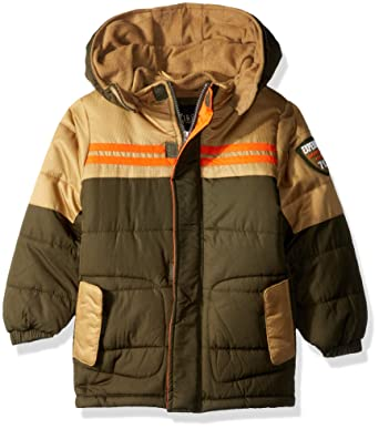 1d755edc6 Amazon.com  iXtreme Boys  Colorblock Expedition Puffer  Clothing