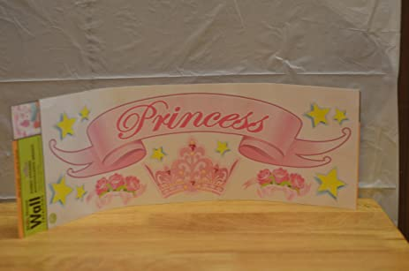 Main Street Wall Creations Jumbo Stickers   Princess Part 27