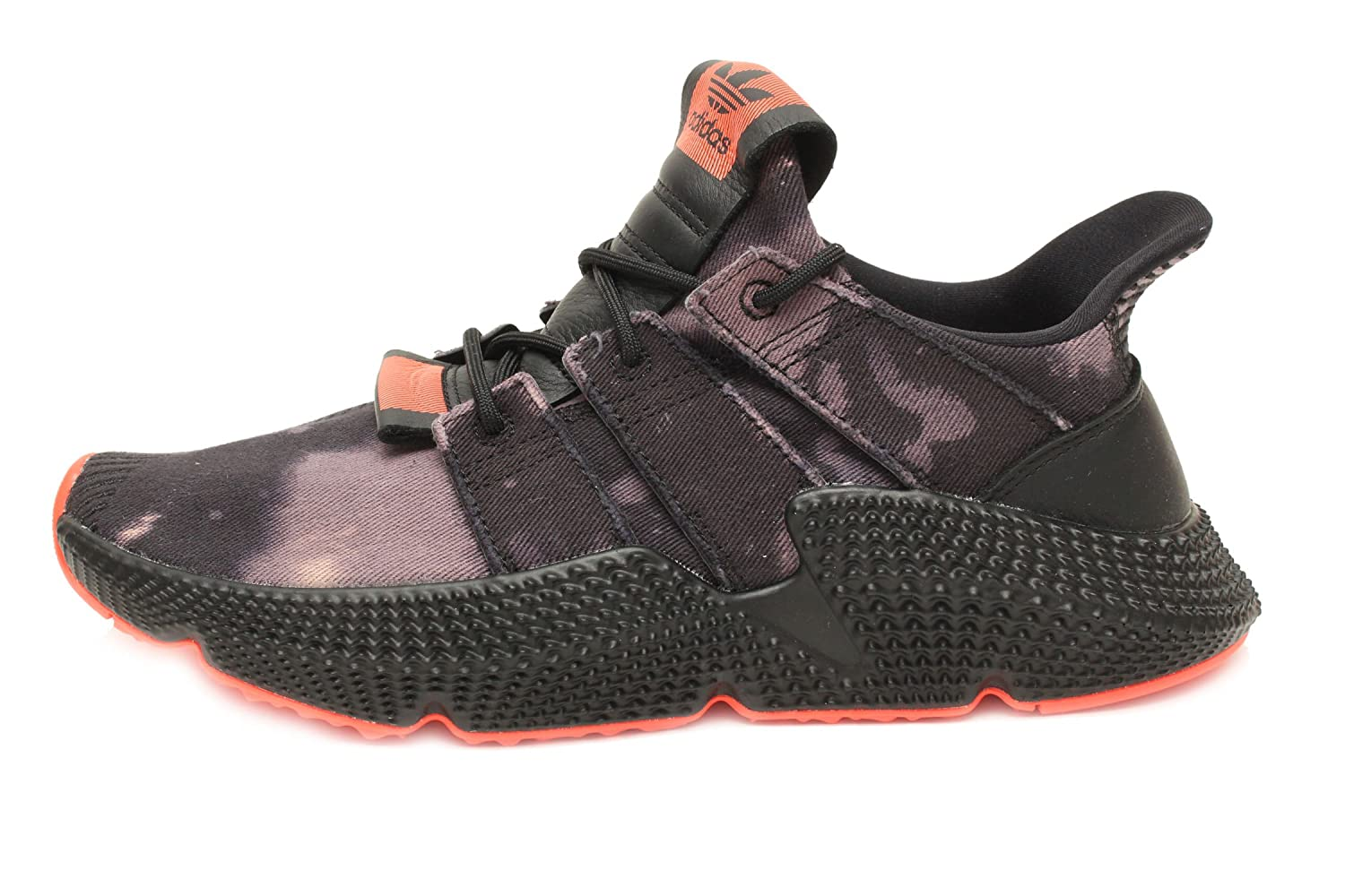 super popular a113d 8e901 Amazon.com  adidas Prophere in Core BlackSolar Red, 5.5 Men 7.5 Women   Fashion Sneakers