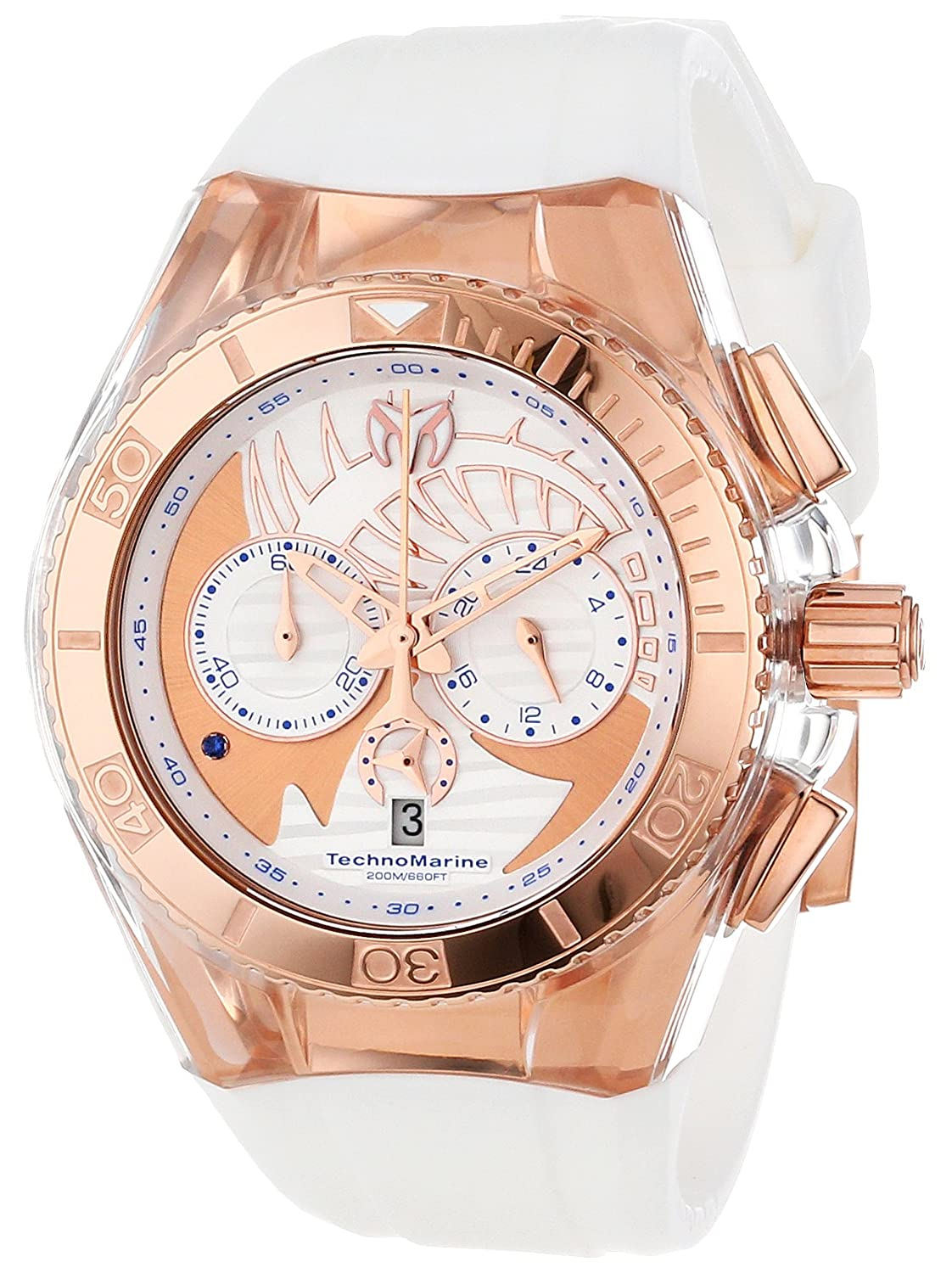 dial cruise ladies s diamond womens chronograph women watches technomarine shipping product today free ceramic jewelry overstock white watch